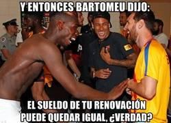 Enlace a Mucha guasa entre Messi, Pogba y Neymar