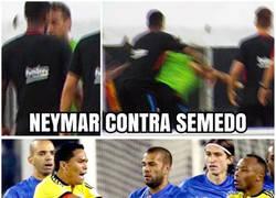 Enlace a Neymar muestra las dos caras de la moneda