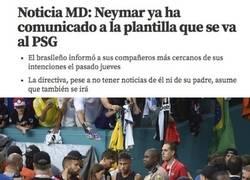 Enlace a Neymar ya ha comunicado que se va, y Bartomeu aún no se ha enterado