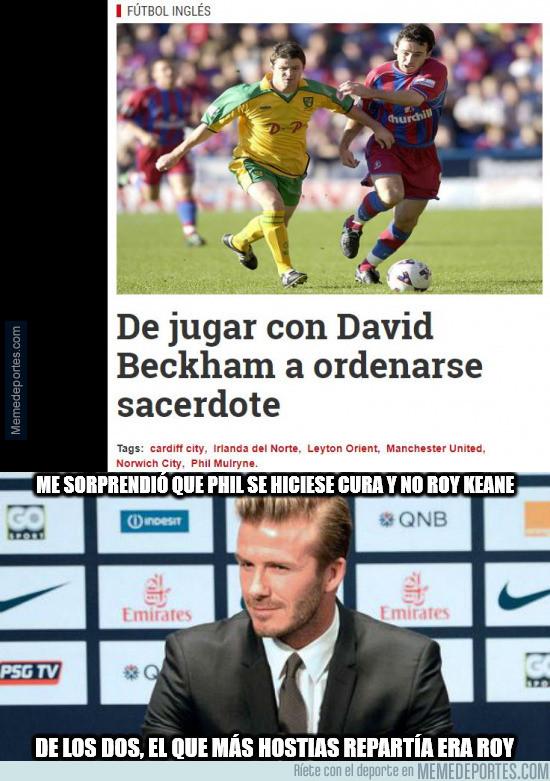 989988 - La historia que emocionó a David Beckham.