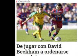 Enlace a La historia que emocionó a David Beckham.