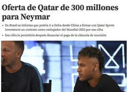 Enlace a La brutal cantidad de dinero que recibirá Neymar de Qatar para fichar por el PSG