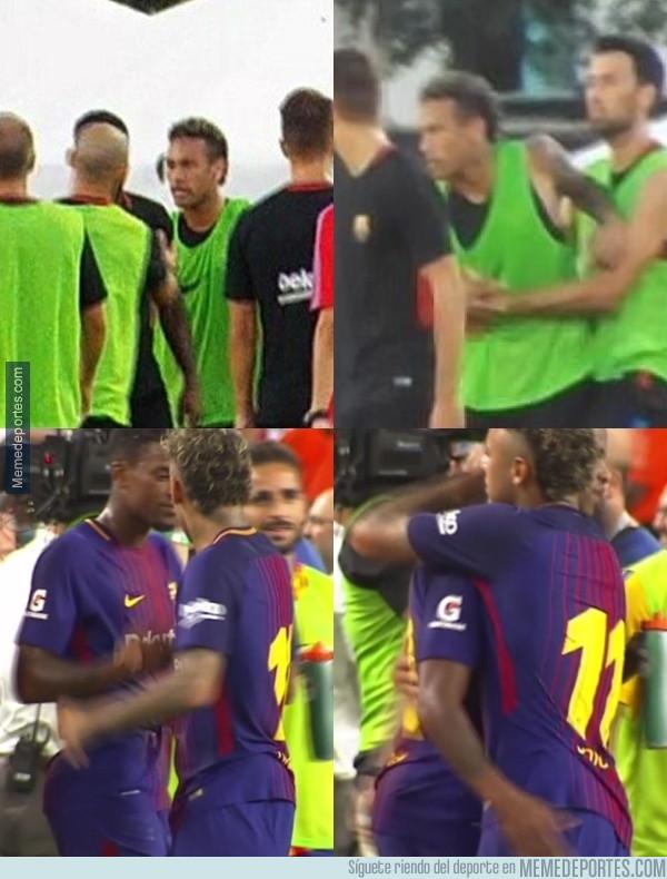 990218 - Neymar ya ha hecho las paces