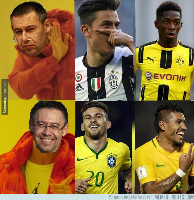 990226 - Bartomeu con los 222M que dejará Neymar...