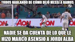 Enlace a Todos hablando de cómo dejó Messi a Ramos pero...