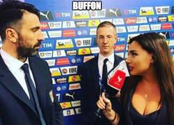 Enlace a Buffon, mira más arriba, hombre