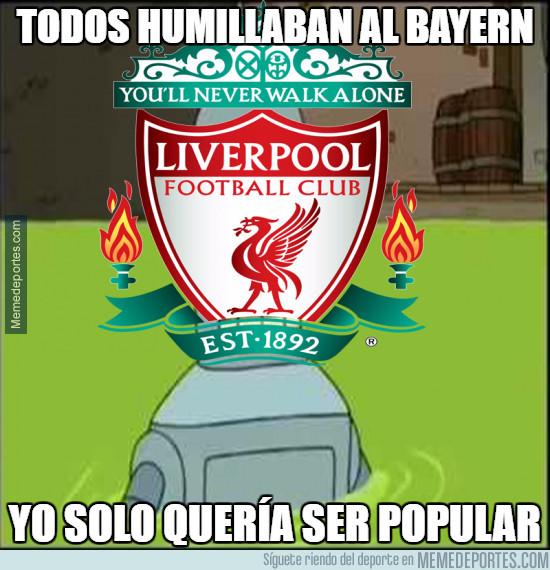990560 - El Liverpool destroza al Bayern a la contra 0-3