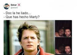 Enlace a Marty tiene una nueva misión. Por @dekar8
