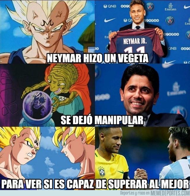 990782 - Neymar marcándose un Vegeta