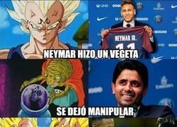 Enlace a Neymar marcándose un Vegeta