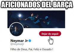 Enlace a Aficionados del Barça dejando de seguir a Neymar en redes sociales