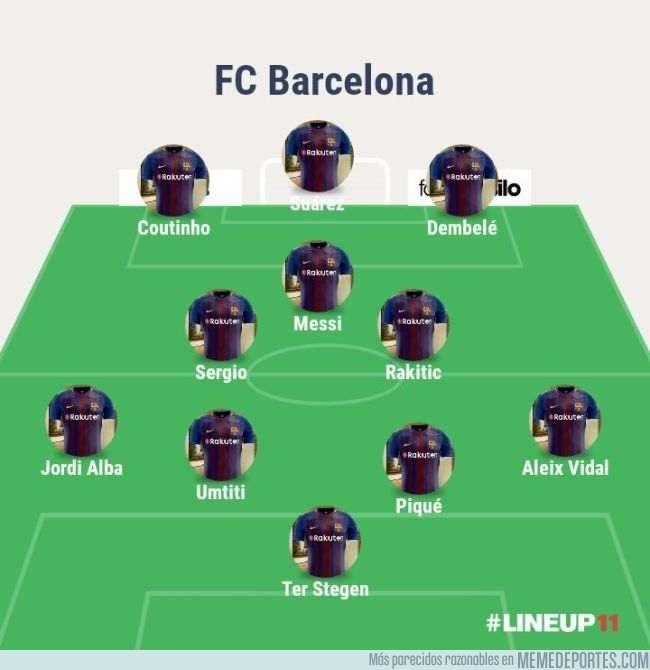 990878 - Este seria el 11 ideal del Barcelona si los rumores fueran ciertos