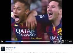 Enlace a Culés al ver el video de despedida de Neymar
