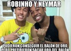 Enlace a La lógica de Robinho y Neymar