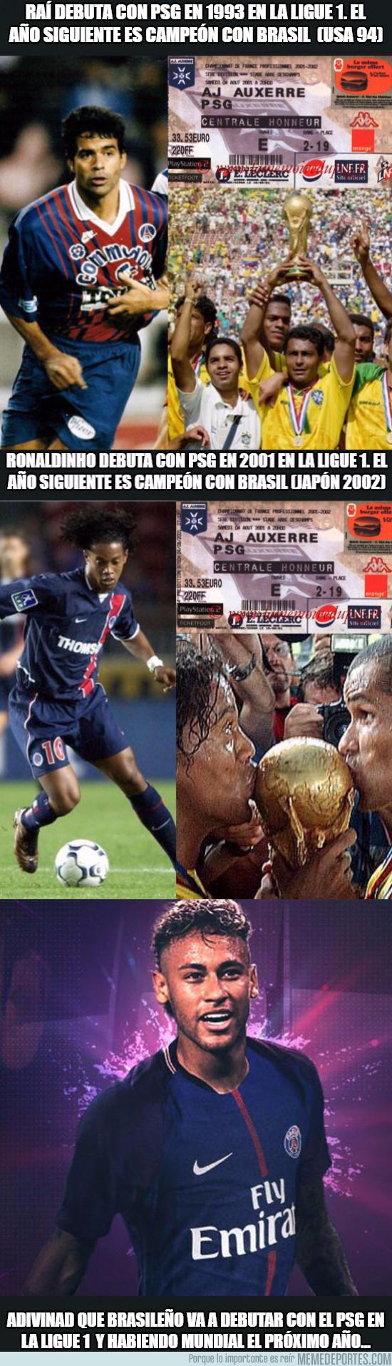 991549 - La curiosa coincidencia de los jugadores brasileños que fichan por el PSG
