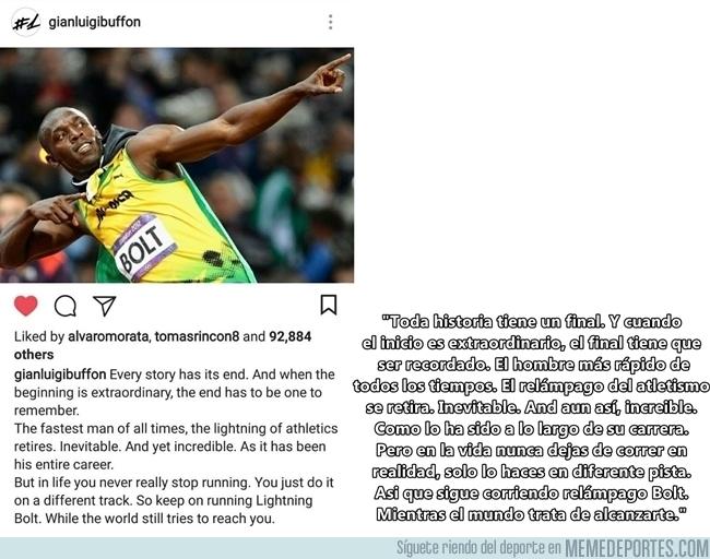 991567 - La carta de Buffon para Bolt