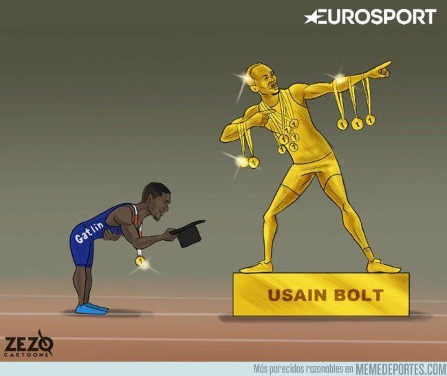 991602 - Incluso en la derrota, Bolt sigue siendo el hombre principal
