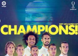 Enlace a ¡El Real Madrid es supercampeón de Europa!