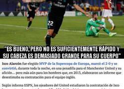 Enlace a El flipante motivo por el que el Manchester United no fichó a Isco en 2013