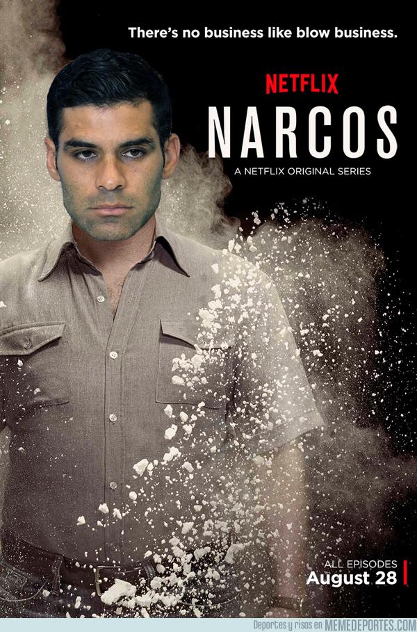 992128 - Netflix estrena serie, tras vincularse a Rafa Márquez con las drogas