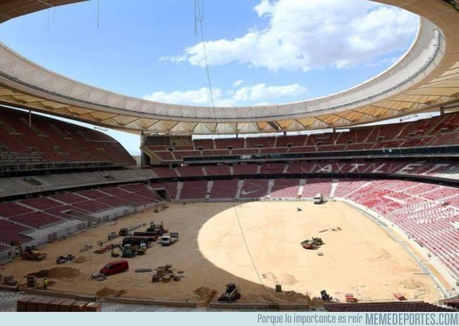 992296 - ¡Imponente! Así luce el Wanda Metropolitano, el próximo estadio de Atlético de Madrid, que se es