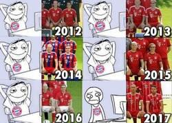 Enlace a No queremos hacer llorar a los aficionados del Bayern, pero...