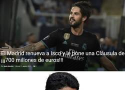 Enlace a Florentino reta a Nasser al-Khelaifi con cláusula de Isco