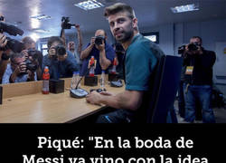 Enlace a Piqué la lía en rueda de prensa destapando todo sobre el fichaje de Neymar por el PSG
