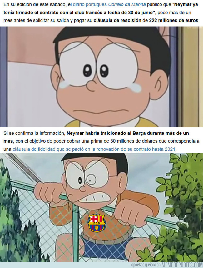 992595 - Se descubre la gran estafa de Neymar al Barça