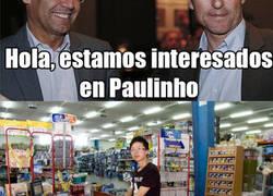 Enlace a Así fueron las negociaciones por Paulinho