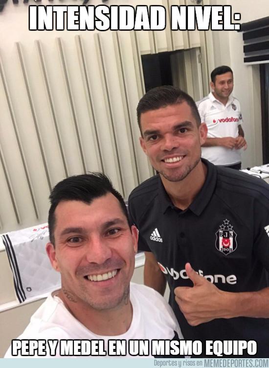 992648 - Pepe y Medel en el mismo equipo van a hacer daño