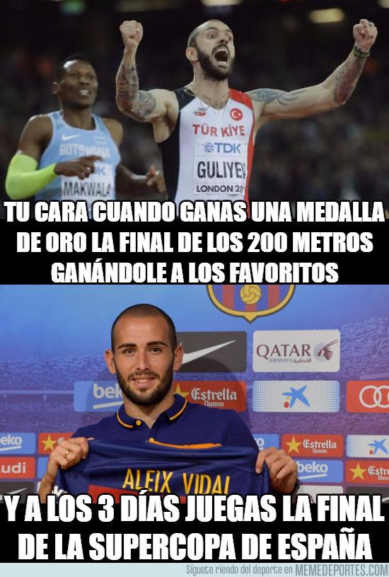992731 - Aleix Vidal campeón del mundo de atletismo