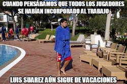Enlace a Suárez en temporada de piscinas