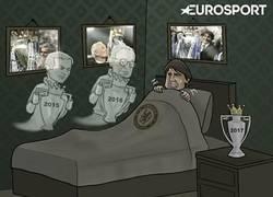 Enlace a Conte es visitado por los fantasmas de los últimos ganadores de la Premier League
