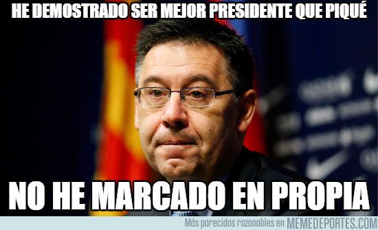 993013 - He demostrado ser mejor presidente que Piqué