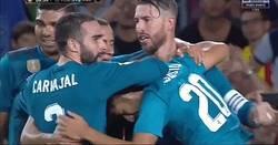 Enlace a Las palabras de Carvajal al árbitro tras el gol de Asensio