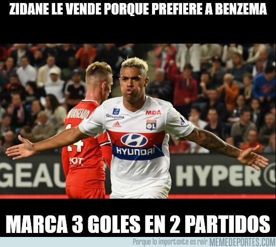 993164 - Zidane le vende porque prefiere a Benzema