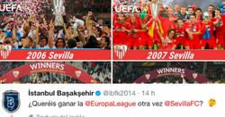 Enlace a El rival de Istanbul del Sevilla en Champions lo vacila y se lleva un buen zasca