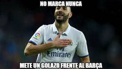 Enlace a El Barça le da alas a Benzema