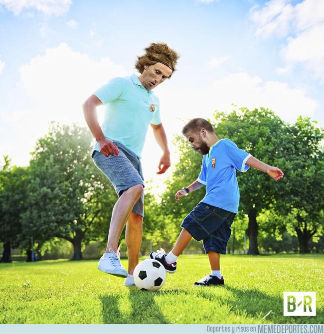 993909 - Como ver jugar hombres contra niños