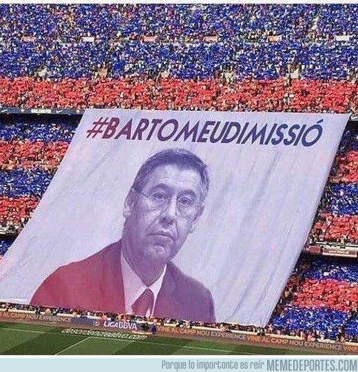 993939 - La próxima pancarta para principio de liga en el Camp Nou. Así sí