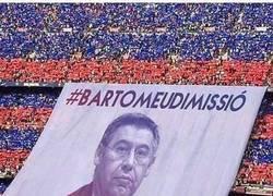Enlace a La próxima pancarta para principio de liga en el Camp Nou. Así sí