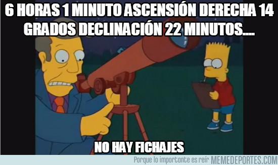994030 - 6 horas 1 minuto ascensión derecha 14 grados declinación 22 minutos....