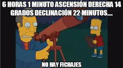 Enlace a 6 horas 1 minuto ascensión derecha 14 grados declinación 22 minutos....