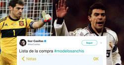 Enlace a Casillas también sube su lista de la compra y twitter le recuerda cosas que ha olvidado