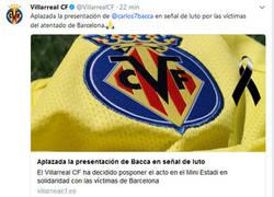 Enlace a Gran gesto del Villarreal