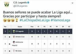 Enlace a Para el @CDLeganes, la liga puede acabar ahora mismo