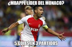 Enlace a Falcao lidera al Monaco