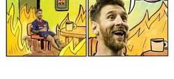 Enlace a Messi en estos momentos...
