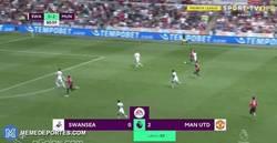 Enlace a GIF: El gran gol de Pogba que iniciaba la jugada para terminarla con una gran vaselina
